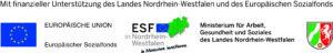 Logos der EU, des ESF und des Mags