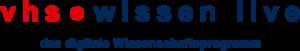 vhs.wissen live Logo
